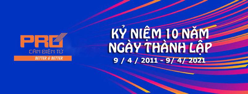 Kỷ niệm 10 năm ngày thành lập