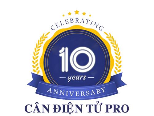 Cân điện tử Pro - Kỷ niệm 10 năm ngày thành lập