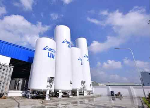 Hệ thống cân bồn lắp đặt tại Nhà máy Masan