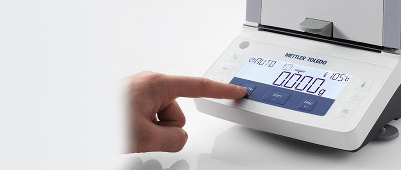 máy đo độ ẩm HE53 Mettelr Toledo