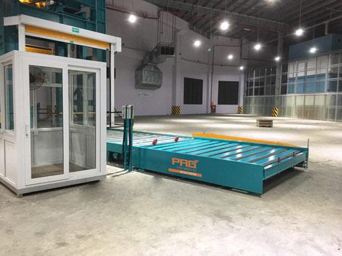 Hệ thống cân băng con lăn lắp đặt tại Cảng hàng không QT Nội Bài