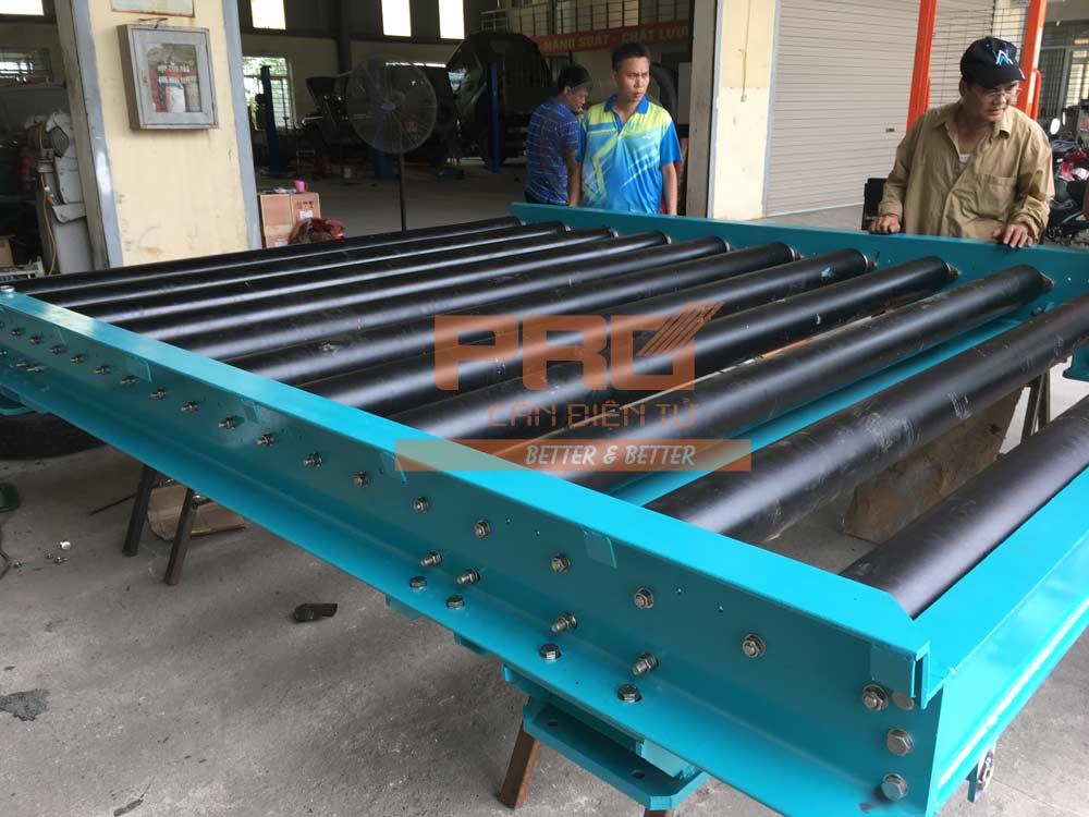 sản xuất cân băng con lăn 10 tấn